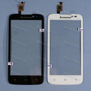 Оригинальный Тачскрин сенсор Lenovo A516 Black, White (Goodix)