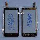 Оригинальный Тачскрин сенсор Lenovo S720 Black