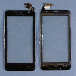 Оригинальный Тачскрин сенсор Prestigio multiphone 3450 duo black (pap3450)
