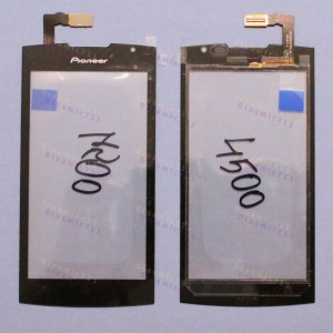 Оригинальный Тачскрин сенсор Prestigio multiphone 4500 duo black (pap4500), Pioneer P80W