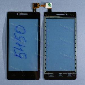 Оригинальный Тачскрин сенсор Prestigio multiphone 5450 duo black (pap5450)