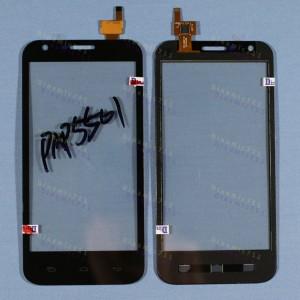 Оригинальный Тачскрин сенсор Prestigio multiphone 5501 duo black (pap5501)