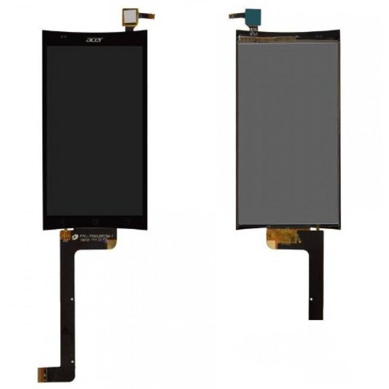 Оригинальный LCD экран и Тачскрин сенсор Acer Liquid E700 Black модуль