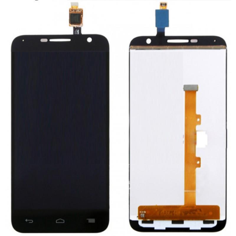 Оригинальный LCD экран и Тачскрин сенсор Alcatel one touch idol 6016d 6016x модуль с рамкой