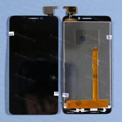 Оригинальный ЛСД экран и Тачскрин сенсор Alcatel one touch idol 6030D OT6030 модуль