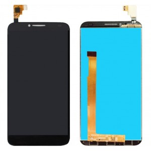 Оригинальный LCD экран и Тачскрин сенсор Alcatel one touch idol 2 6037 Black модуль