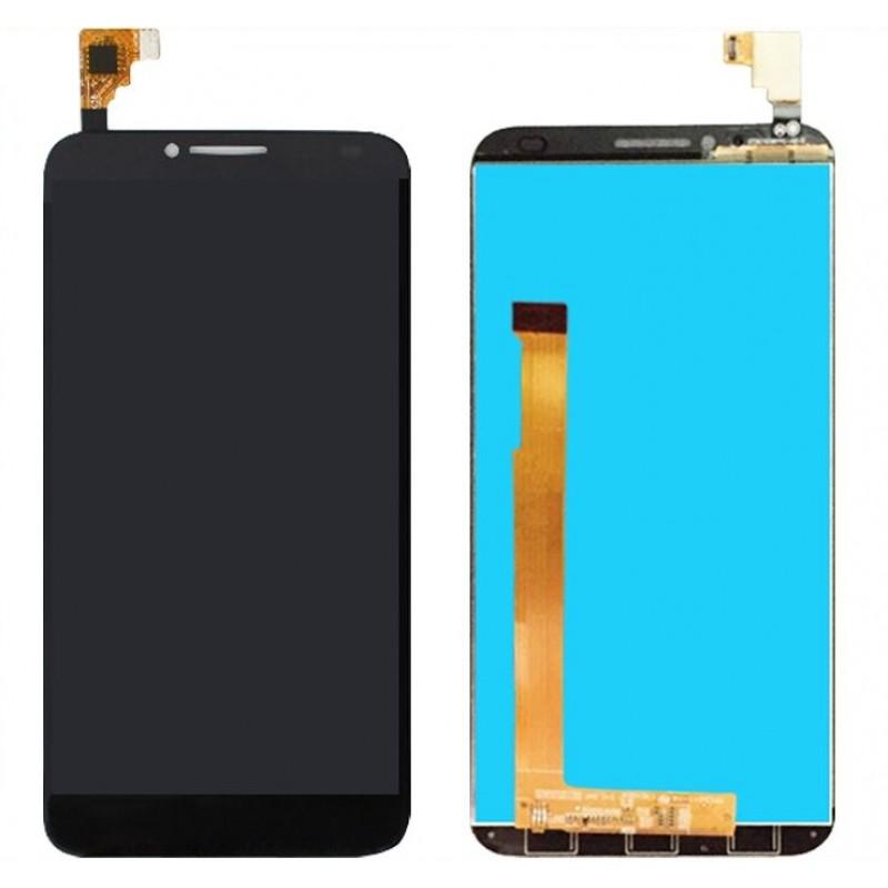 Оригинальный LCD экран и Тачскрин сенсор Alcatel one touch idol 2 6037 Black модуль