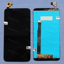 Оригинальный ЛСД экран и Тачскрин сенсор Alcatel one touch idol 2 6037 Black модуль