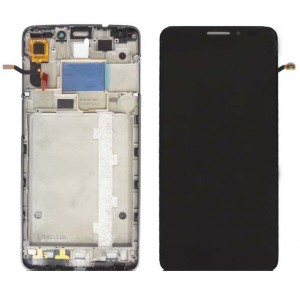 Оригинальный LCD экран и Тачскрин сенсор Alcatel one touch idol x 6040D с рамкой модуль
