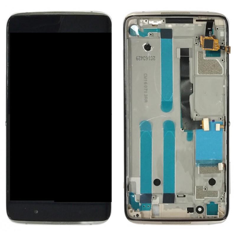 Оригинальный LCD экран и Тачскрин сенсор Alcatel one touch idol 4 6055K модуль
