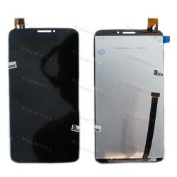 Оригинальный ЛСД экран и Тачскрин сенсор Alcatel one touch hero 8020D, OT8020 Black модуль