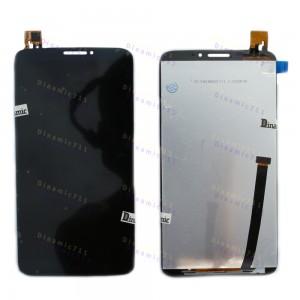 Оригинальный LCD экран и Тачскрин сенсор Alcatel one touch hero 8020D, OT8020 Black модуль