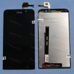 Оригинальный ЛСД экран и Тачскрин сенсор Asus zenfone 2 ZE550ML Black модуль