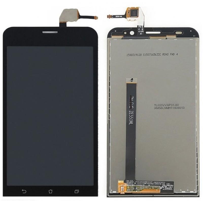 Оригинальный LCD экран и Тачскрин сенсор Asus zenfone 2 ZE551ML модуль