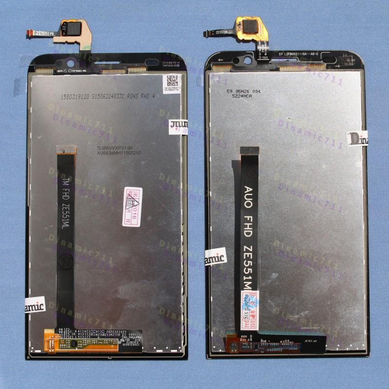 """Дисплей Asus 2 ZE551ML Module для телефона. Купить LCD дисплеи и тачскрин сенсоры для смартфона - интернет-магазин """"Dinamic711""""."""