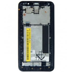 Оригинальный LCD экран и Тачскрин сенсор Asus zenfone 2 ZE551ML Black с рамкой модуль