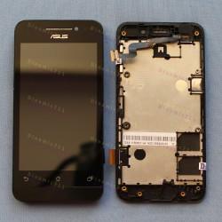 Оригинальный ЛСД экран и Тачскрин сенсор Asus zenfone 4 A400CG Black с рамкой модуль