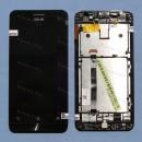 Оригинальный ЛСД экран и Тачскрин сенсор Asus zenfone 5 A500CG, A501CG  T100J T00F с рамкой модуль
