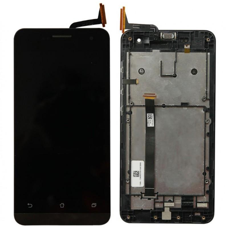 Оригинальный LCD экран и Тачскрин сенсор Asus zenfone 5 A500CG, A501CG модуль с рамкой