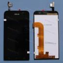 Оригинальный ЛСД экран и Тачскрин сенсор Asus Zenfone Go ZB500kg модуль