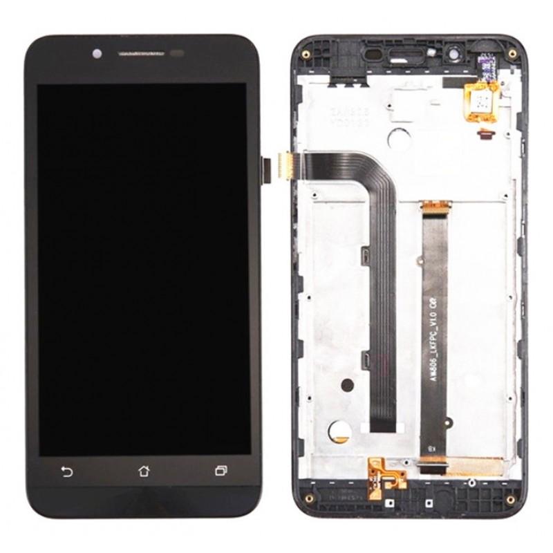 Оригинальный LCD экран и Тачскрин сенсор Asus Zenfone Go ZC500TG с рамкой модуль