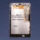 Оригинальный ЛСД экран и Тачскрин сенсор Asus Google Galaxy Nexus 7 ME370T Black модуль с рамкой