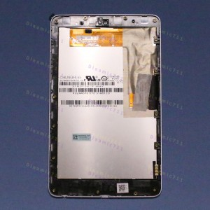 Оригинальный LCD экран и Тачскрин сенсор Asus Google Galaxy Nexus 7 ME370T Black модуль с рамкой