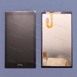 Оригинальный LCD экран и Тачскрин сенсор Htc Desire 610 Black модуль