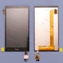 Оригинальный ЛСД экран и Тачскрин сенсор Htc Desire 620G Black модуль