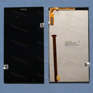 Оригинальный LCD экран и Тачскрин сенсор Htc Desire 700 Black модуль