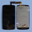 Оригинальный ЛСД экран и Тачскрин сенсор Htc Desire D500 G520 G525 Black модуль