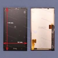 Оригинальный ЛСД экран и Тачскрин сенсор Htc One M7 модуль