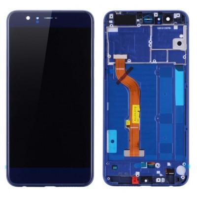 Оригинальный LCD экран и Тачскрин сенсор Huawei Honor 8 модуль с рамкой