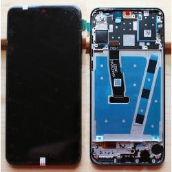 Оригинальный ЛСД экран и Тачскрин сенсор Huawei P30 Lite модуль с рамкой