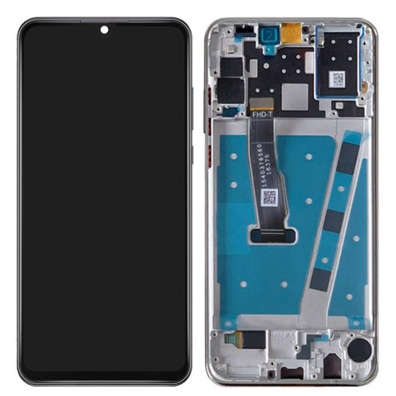 Оригинальный LCD экран и Тачскрин сенсор Huawei P30 Lite модуль с рамкой