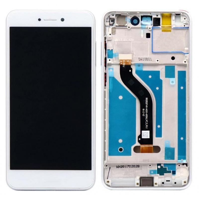 Оригинальный LCD экран и Тачскрин сенсор Huawei P8 Lite 2017 модуль с рамкой