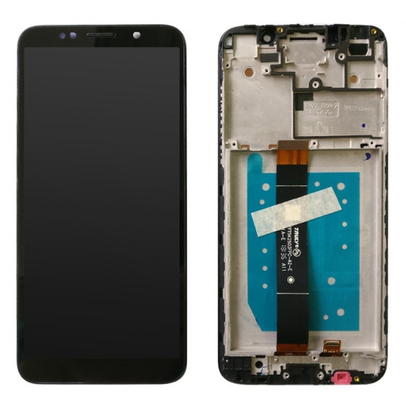 Оригинальный LCD экран и Тачскрин сенсор Huawei Y5 2018 модуль с рамкой