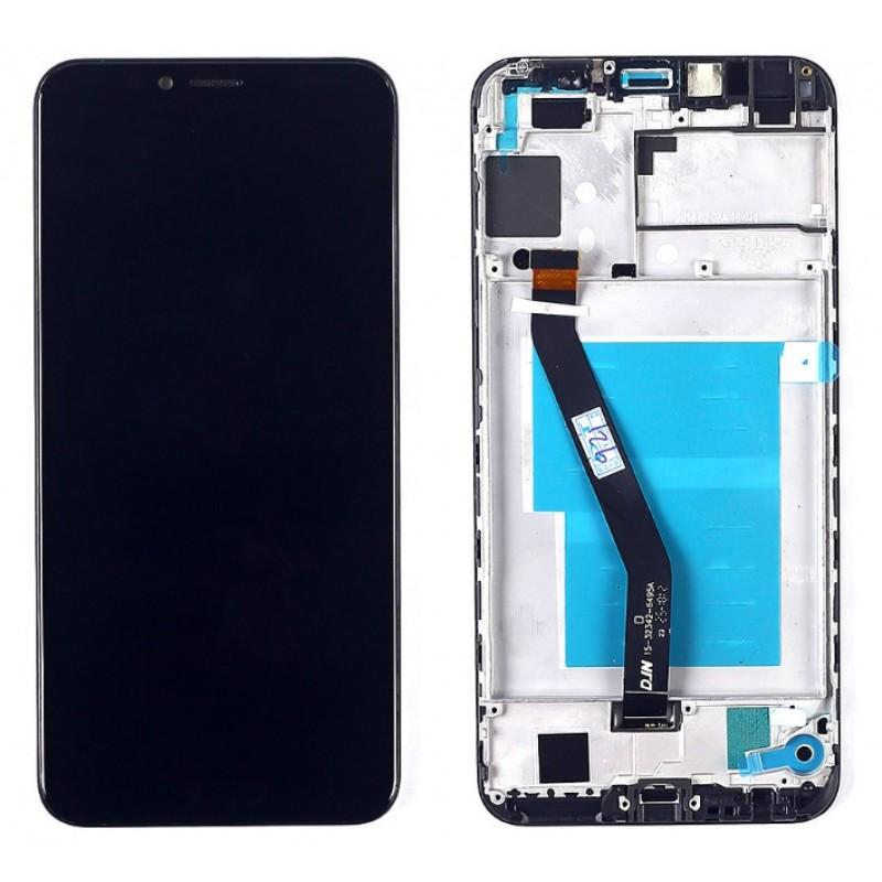 Оригинальный LCD экран и Тачскрин сенсор Huawei Y6 Prime / Y6 2018 модуль с рамкой
