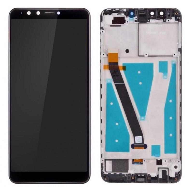 Оригинальный LCD экран и Тачскрин сенсор Huawei Y9 2018 модуль с рамкой