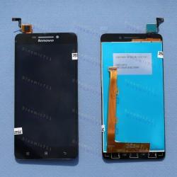 Оригинальный ЛСД экран и Тачскрин сенсор Lenovo A5000 модуль