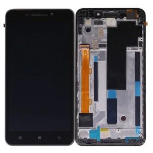 Оригинальный LCD экран и Тачскрин сенсор Lenovo A5000 модуль с рамкой