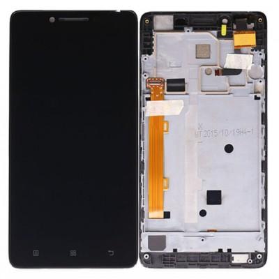 Оригинальный LCD экран и Тачскрин сенсор Lenovo K3 K30t Black модуль с рамкой