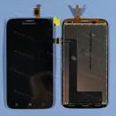 Оригинальный ЛСД экран и Тачскрин сенсор Lenovo A859 Black модуль
