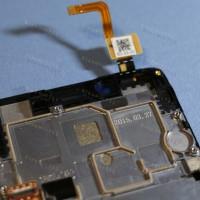 Оригинальный ЛСД экран и Тачскрин сенсор Lenovo K3 K30t Black модуль с рамкой