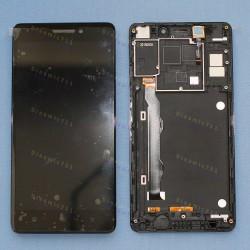 Оригинальный ЛСД экран и Тачскрин сенсор Lenovo K3 note K50t5 Black с рамкой модуль