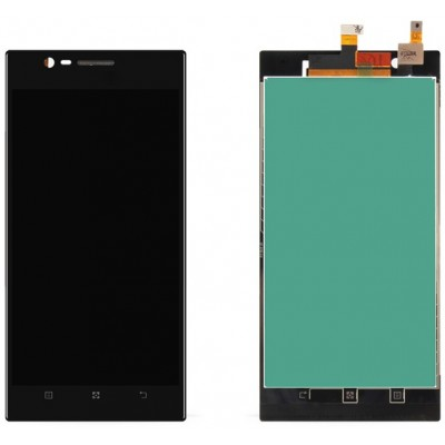 Оригинальный LCD экран и Тачскрин сенсор Lenovo K900 Black модуль