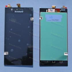 Оригинальный ЛСД экран и Тачскрин сенсор Lenovo K900 Black модуль