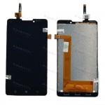 Оригинальный ЛСД экран и Тачскрин сенсор Lenovo P780 Synaptics Black модуль