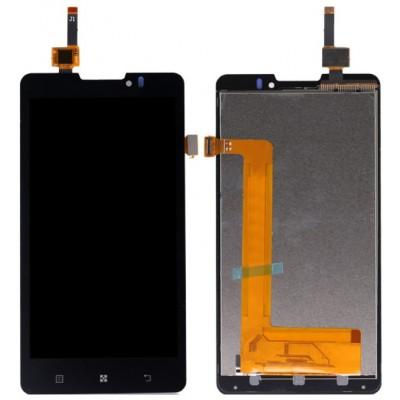 Оригинальный LCD экран и Тачскрин сенсор Lenovo P780 Black модуль