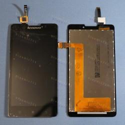 Оригинальный ЛСД экран и Тачскрин сенсор Lenovo P780 Black модуль